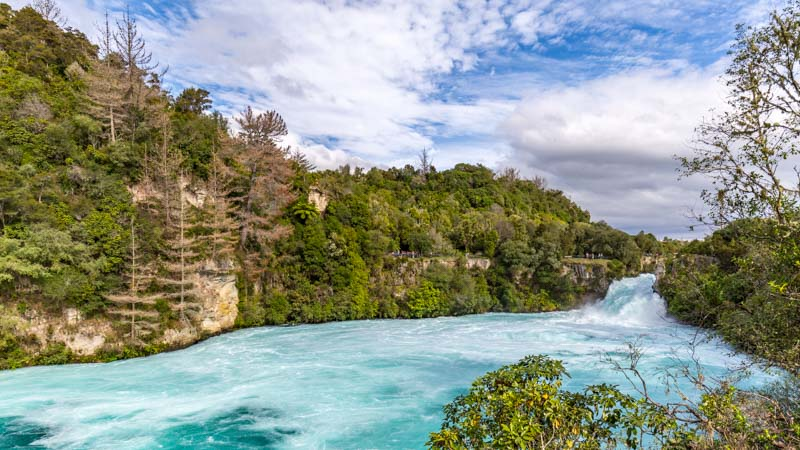 The Perfect Midwinter's Day In Taupo - Huka Falls And Beyond!